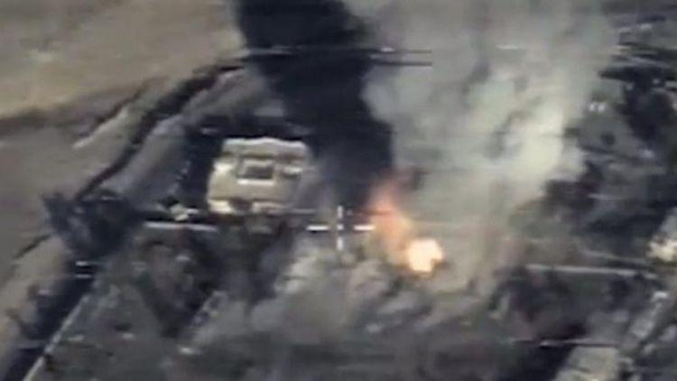 Missili russi su Raqqa