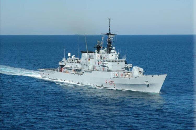 La Fregata antisommergibile Euro