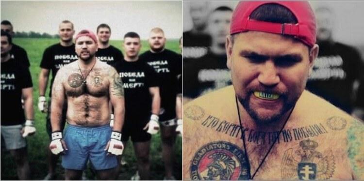 Vasily the Killer, il capo degli hooligans russi e membro degli Spartak Gladiator