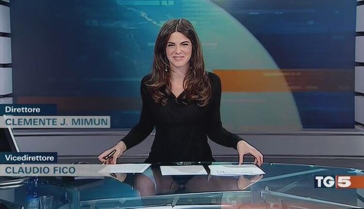 Costanza Calabrese giornaliste più belle d'italia mediaset