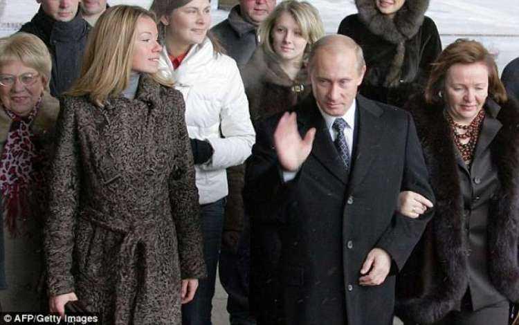 putin con moglie ludmila e figlia maria