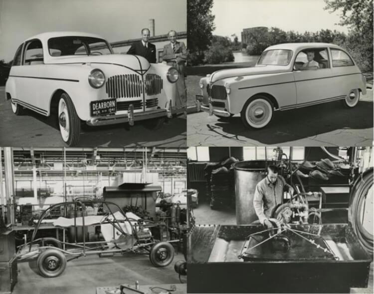 L'Hemp Body Car creata da Henry Ford