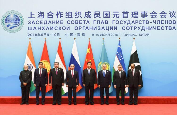 I rappresentanti degli Stati membri della Shangai Corporation Organization