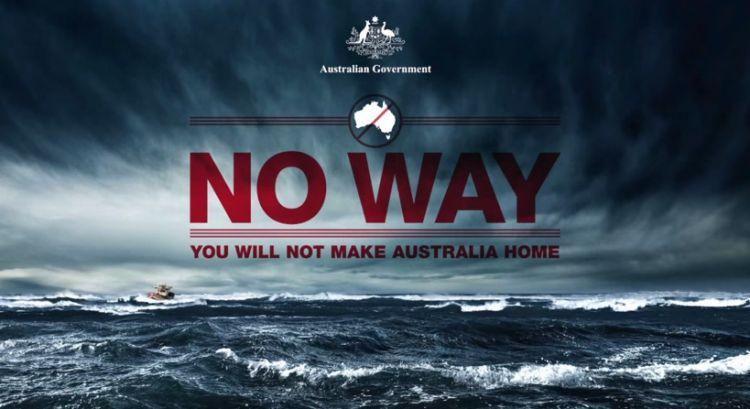 La pubblicità del governo australiano che scoraggia gli sbarchi