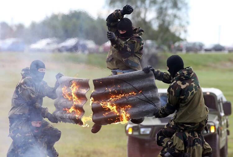 Gli agenti delle Spetsnaz lavorano a contratto.