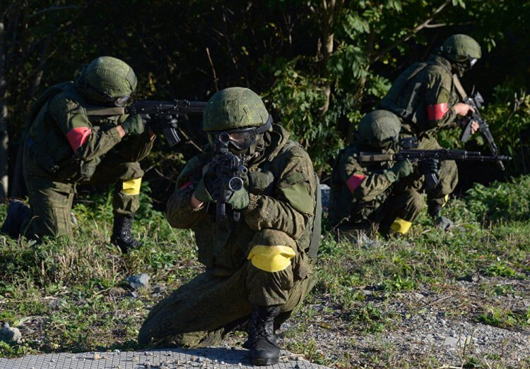 Le Spetsnaz sono considerate l'elite dell'esercito russo.