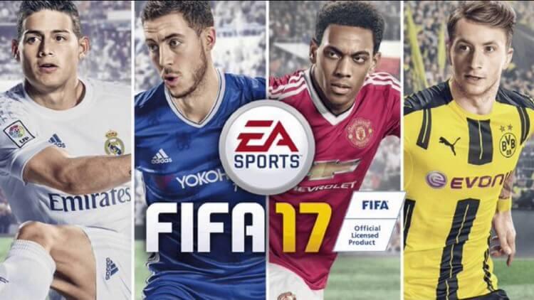 Fifa 17, la copertina ufficiale