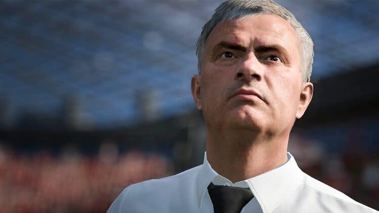 Frostbite Fifa 17, Josè Mourinho