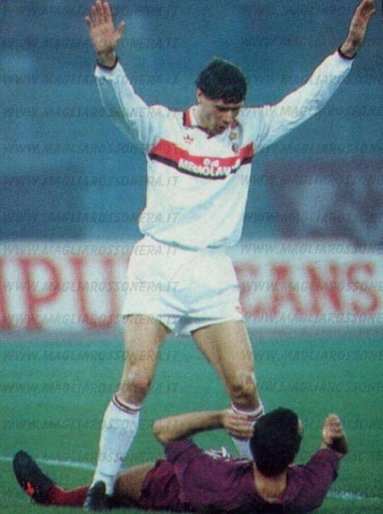 Marco Van Basten e Pasquale Bruno