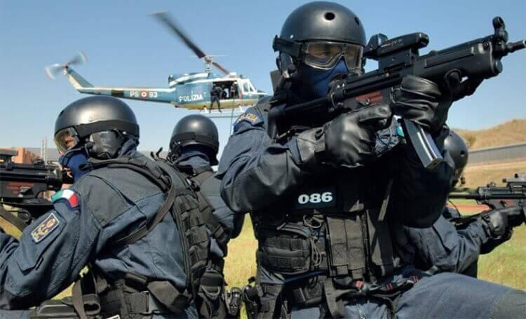 Squadra antiterrorismo della Polizia di Stato