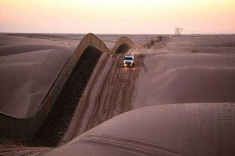 Dune de Los Algodones, frontiera tra Arizona e Bassa California.