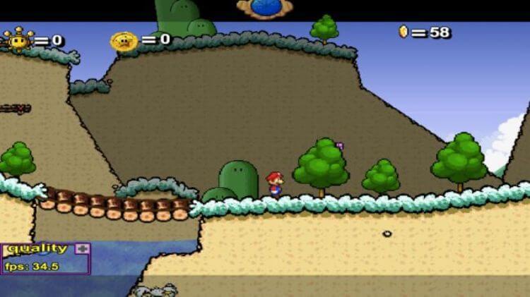 Tra i migliori giochi gratis online non può mancare Super Mario 63