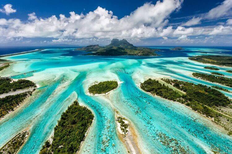 3 l'isola di Bora Bora