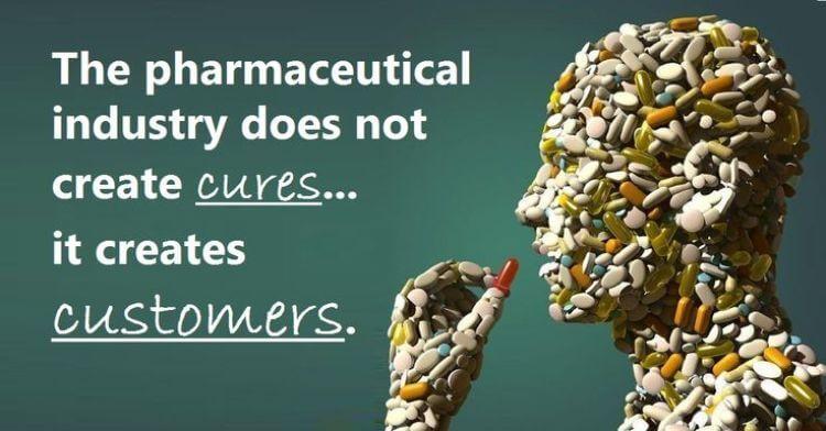 L'industria farmaceutica non crea le cure ma crea consumatori