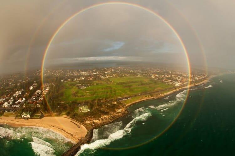 11 Buongiorno colorato - Arcobaleno a 360°