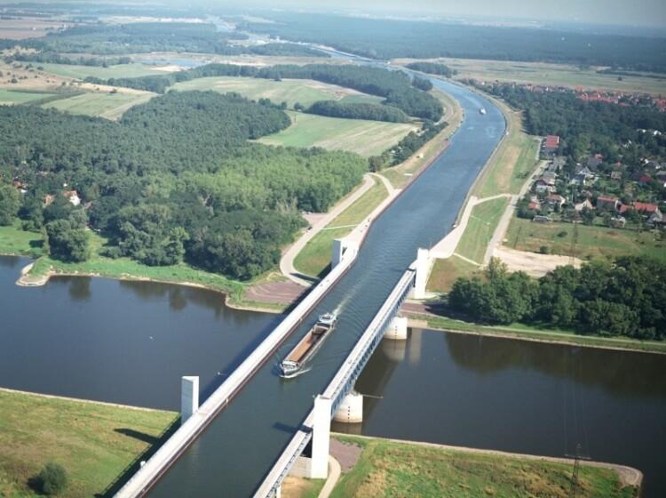 15 Buongiorno di riavvicinamento - Il Ponte di Magdeburg in Germania