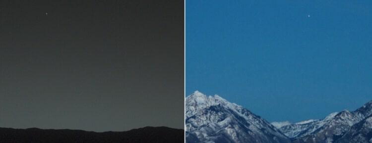 17 Buongiorno in prospettiva - Come si vede la Terra da Marte e Marte dalla Terra