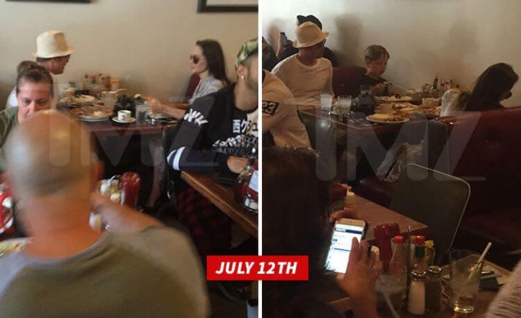 Brad Pitt e Angelina Jolie litigano al fast food il 12 luglio