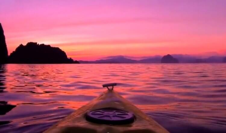 Con questa foto che ritrae l'alba delle Filippine il buongiorno è assicurato