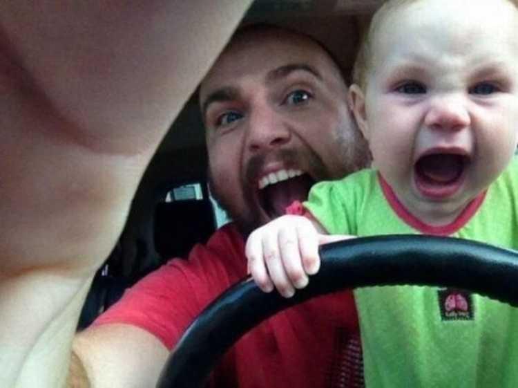 2) Papà non gli insegnerà niente di male!