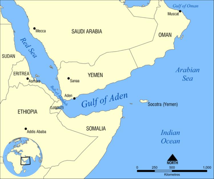 Il Golfo di Aden