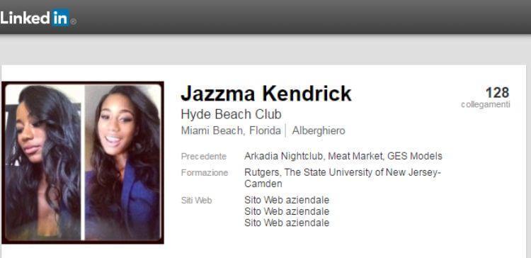 Jazzma Kendrick profilo LinkedIn