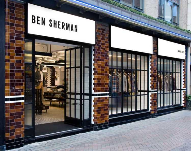4 Ben Sherman store a Brinkworth, Londra