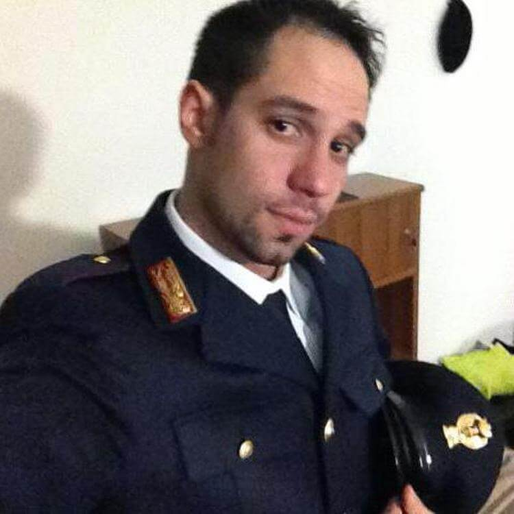 L'agente Nicola Scafidi