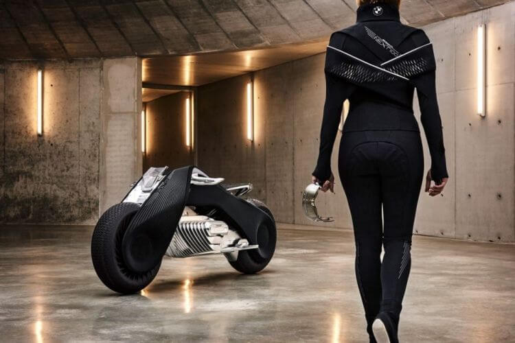 La moto del futuro è la BMW Motorrad VISION NEXT 100