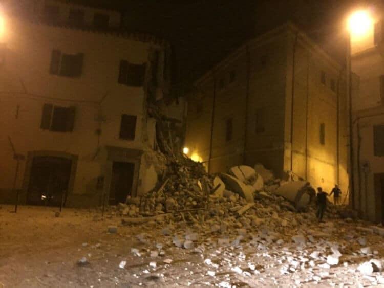 Camerino, Macerata 1 terremoto 26 ottobre 2016