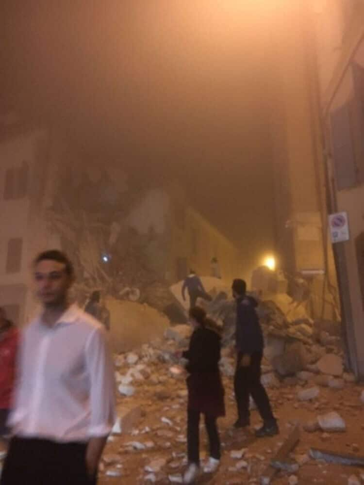Camerino, Macerata 2 terremoto 26 ottobre 2016