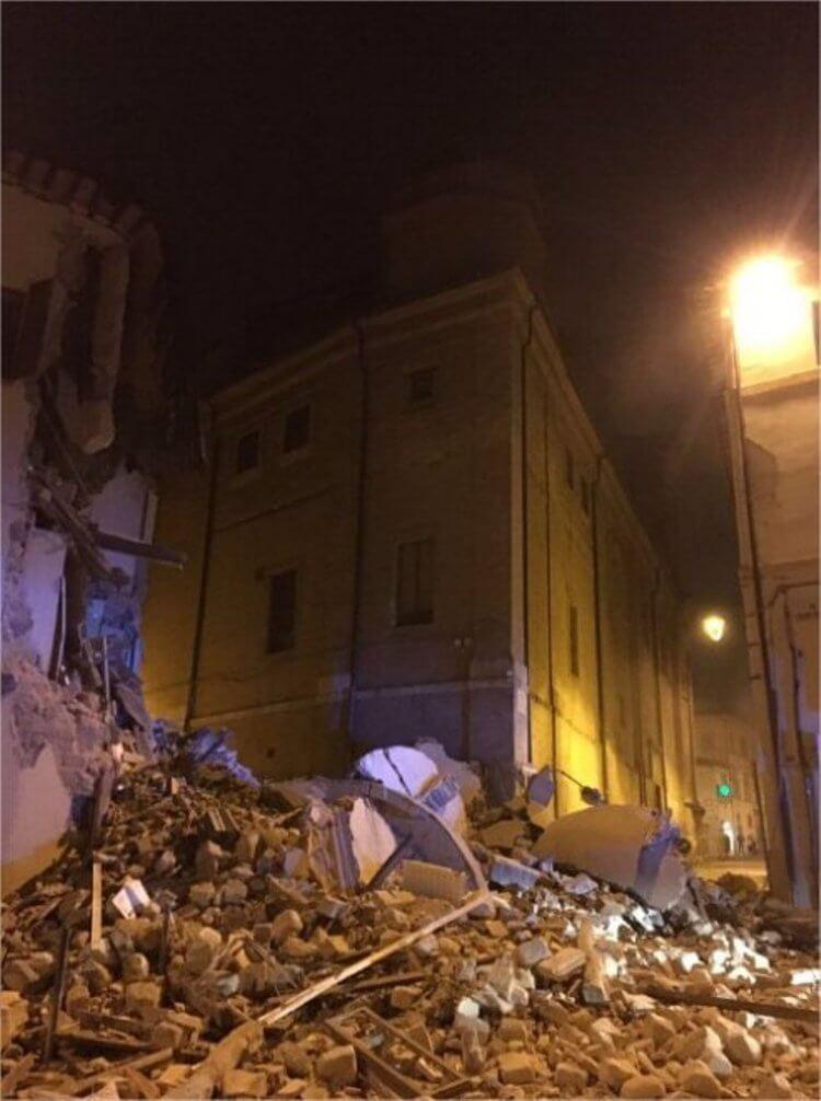 Camerino, Macerata terremoto 26 ottobre 2016