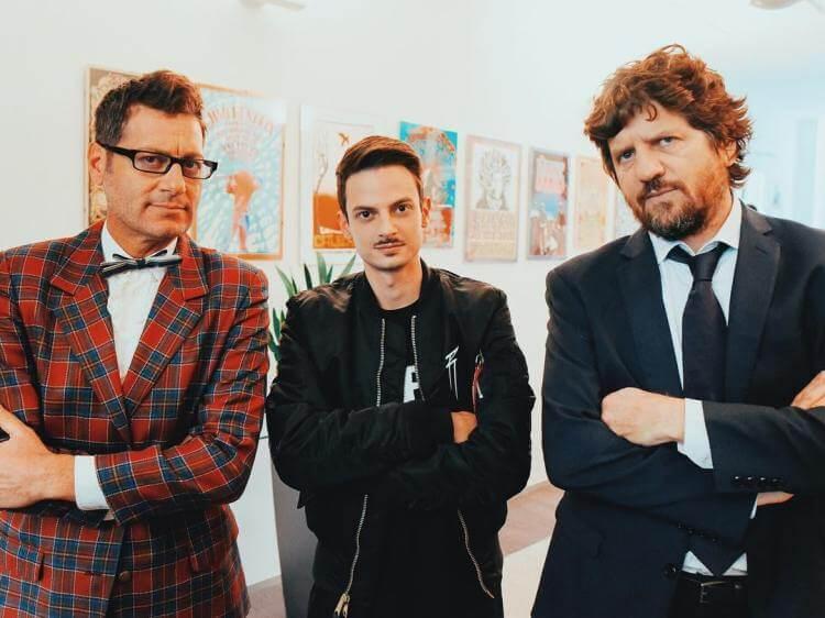 Fabio Rovazzi Enrico Papi Fabio De Luigi video ufficiale Tutto Molto Interessante nuovo singolo audio testo