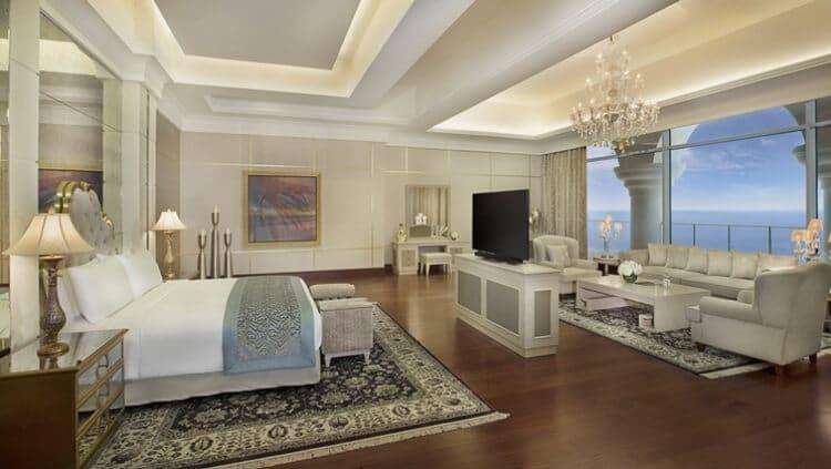 La Royal Suite dell'hotel