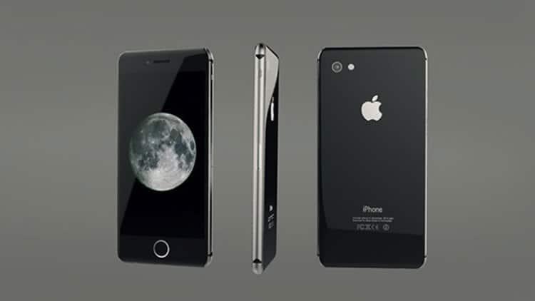 un'immagine ufficiale rilasciata dalla apple dell'iphone 8