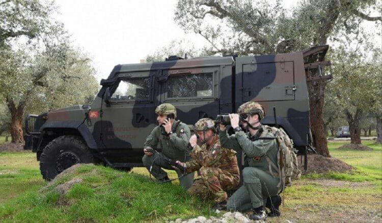 Il 61° Stormo dell'Aeronautica Militare si addestra con il Reggimento San Marco della Marina Militare (6)