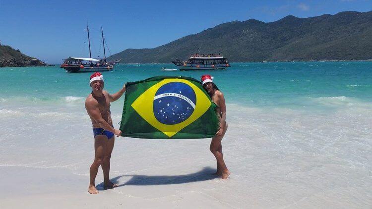 La Figa Copacabana Rio de Janeiro stefano e moglie