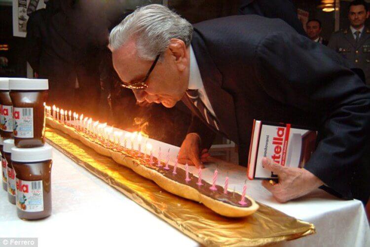 Michele Ferrero, l'inventore di Nutella, spegne le 50 candeline dell'anniversario