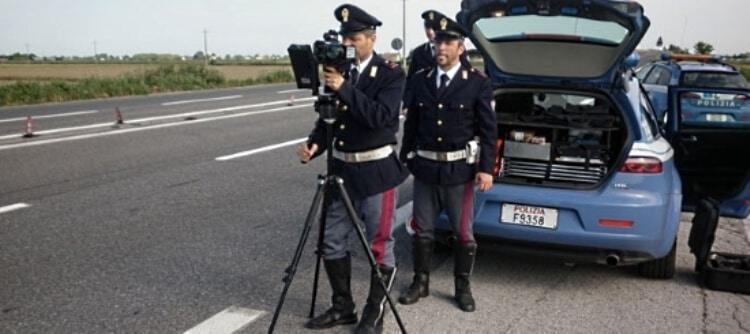 polizia stradale telelaser trucam 550