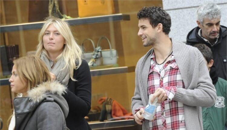 Maria Sharapova e il nuovo fidanzato Andrés Velencoso