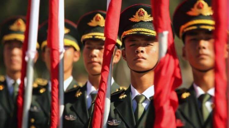 terza guerra mondiale esercito cinese in allerta