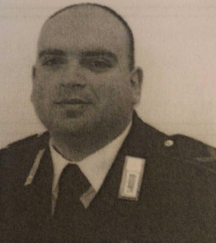 Il carabiniere Angelo Vivone