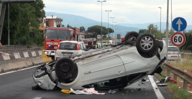 incidente pistoia muore carabiniere